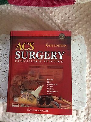 Book ACS Surgery Principles &a Practice 6th Edition