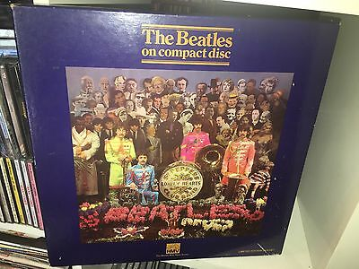 The Beatles Sgt.Peppers Lonely Hearts Club Band CD Box Set HMV Limited