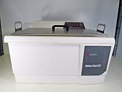 Steris / Amsco Reliance Sonic 550-DTH Ultrasonic Sterlizer Cleaning Bath