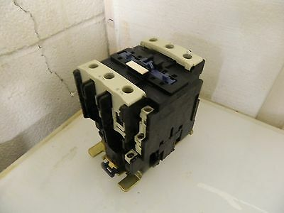 Telemecanique AC Contactor # LC1 D80 11, LC1D4011 125A, 100V Coil, Used Warranty