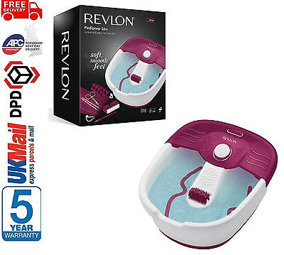 Revlon RVFB7021 Pediprep Foot Spa with 9 Pieces Nail Care set & Free Nail Polish