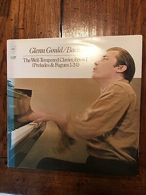 CBS 77225 Bach The Well-Tempered Clavier Book I / Gould 2 LP set