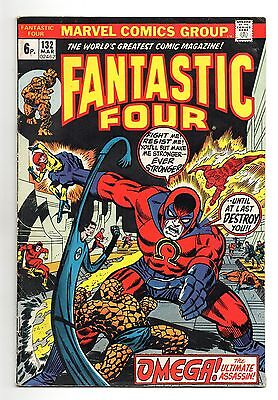 Fantastic Four Vol 1 No 132 Mar 1973 (FN) Marvel, Bronze Age (1970 - 1979)