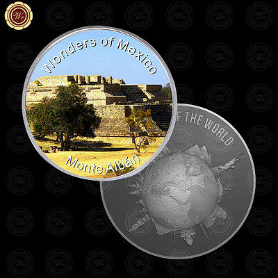 WR Wonders of Mexico Monte Alban Commemorative Mexican Silver International Coin