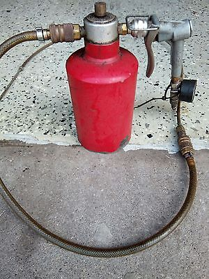 Vintage oil sprayer Made in USA car undercoat