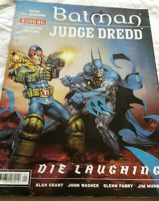 batman judge dredd die laughing collected