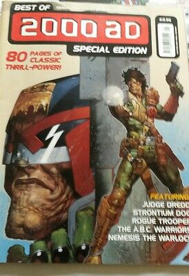 2000AD special edition best of