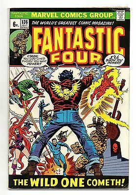 Fantastic Four Vol 1 No 136 Jul 1973 (FN+) Marvel, Bronze Age (1970 - 1979)