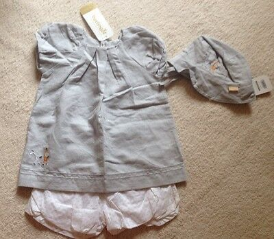 Bnwt Baby Girls Summer Berlingot Outfit Age 9 Months Like Catimini