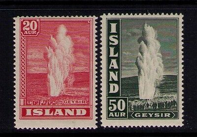 Iceland Stamps Key Values Sc# 204;208 MNH Cat.$75