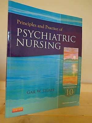 Principles and Practice of Psychiatric Nursing by Gail Wiscarz Stuart (paperback