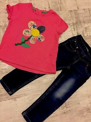 Girl Small Bundle 100% NEXT T-shirt + Jeggings 2-3 Years