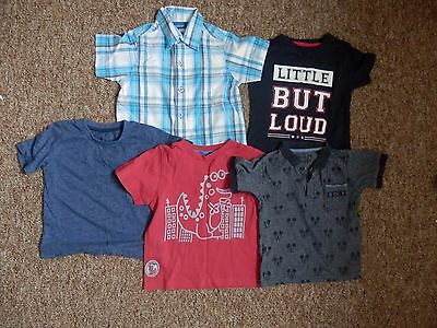 Baby boy 18-24 months t-shirts/tops
