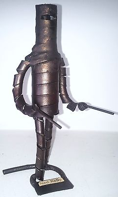 NED KELLY. Colectible Figurine of NED KELLY Hand Crafted in Austrlia
