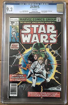 Star Wars #1 ⭐️ CGC Graded 9.2 ⭐️ 1977 Marvel Comics