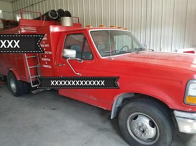 1993 Ford Pringle Air Duct Cleaning Truck