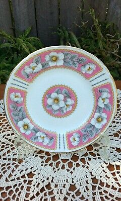 """EB Foley """"Christmas Rose"""" Fine Bone China Bread & Butter Plate. Made in England"""