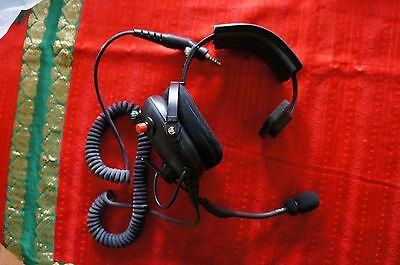 Firecom Headset Wired Model FH-10S-Fire fighter Fire truck Accessories New