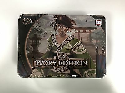 OMG Ivory Edition Sealed Booster Box! Legend of the 5 Rings L5R CCG AEG