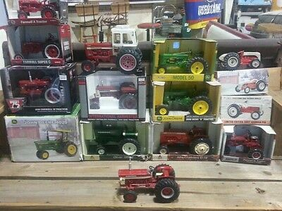 diecast tractor collection