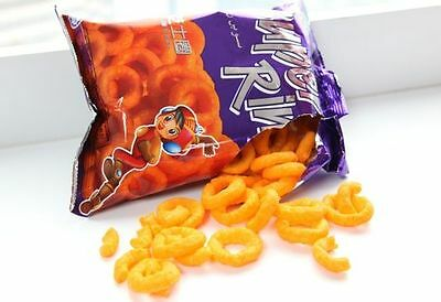 3 packs X 60g SUPER RING CHEESE Snack Cheese FAMOUS MALAYSIA ASIA
