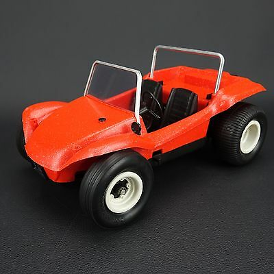 Cox Gas .049 powered Red/Orange  Dune Buggy Tether Car Vintage