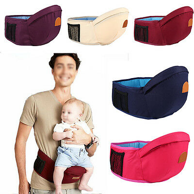 Hipseat Baby Sit Carrier Waist Chair Belt Holder Infant Toddler Front Hip Seat