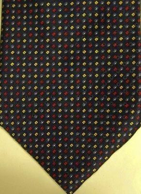 NEW $235 Brioni Blue w/ Tiny Gold Red & Blue Dots Handmade Tie Italy