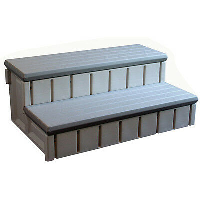 Confer Spa Step with Storage, Gray