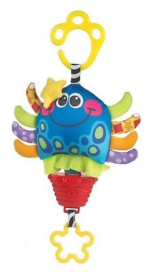 Playgro Musical Pullstring Octopus Cot Toy Pull String Musical Baby Toy Octopus