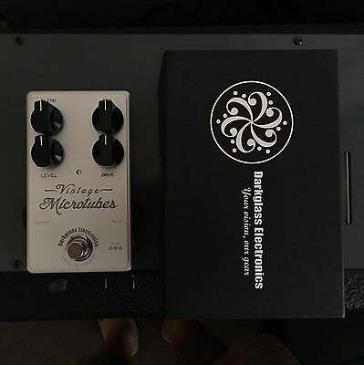 Darkglass Electronics Vintage Microtubes Effect Pedal Bass OverDrive