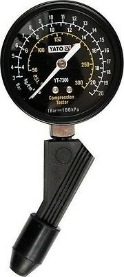New YATO Compression Tester 21 Bar with Universal Rubber Adapter