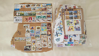 LARGE COLLECTION of AUSTRALIAN and WORLD STAMPS - 50 YEARS WORTH