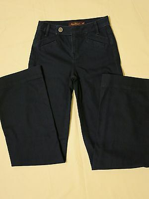 Raven Denim in dark wash, straight leg women's jeans size 25