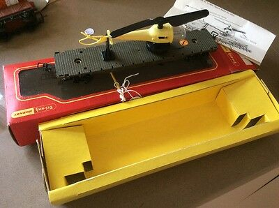 Triang Hornby   Model Trains R128  Wagon Launch Helicopter.  Yellow  French Mar…