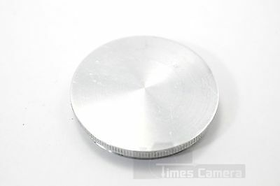 Rare Custom Made Solid Stainless Steel Cap for Camera Lenses, 57mm Screw Thread