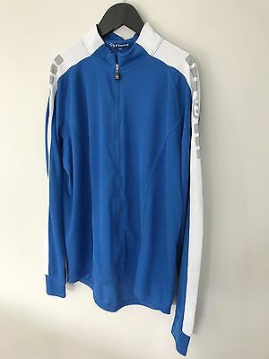 NETTI Mens Long Sleeve Cycling Top XXL with Full Zip 3 Pockets Great Condition