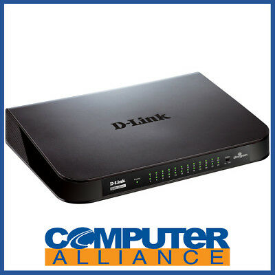 24 Port D-Link DGS-1024A Gigabit Network Switch