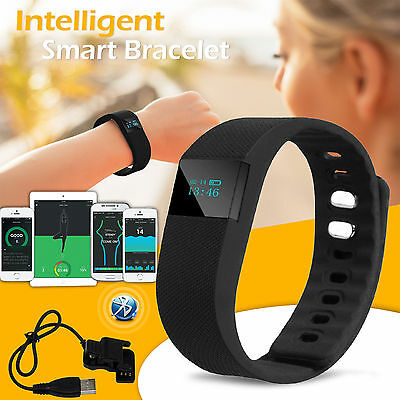 4.0 Bluetooth Watch Smart Bracelet Pedometer Wrist Sport Tracker Calorie Counter