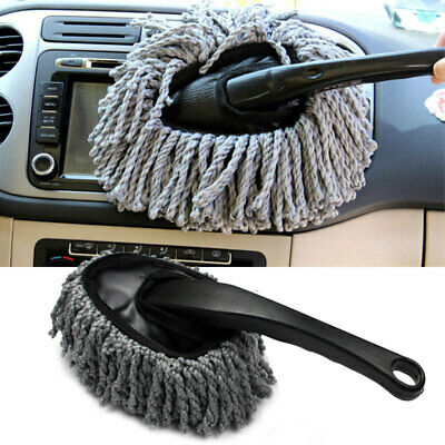 New Auto Car Truck Cleaning Wash Brush Dusting Tool Large Microfiber Duster Kit