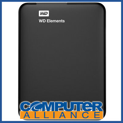 "3TB WD 2.5"" USB 3.0 Elements Portable HDD PN WDBU6Y0030BBK"
