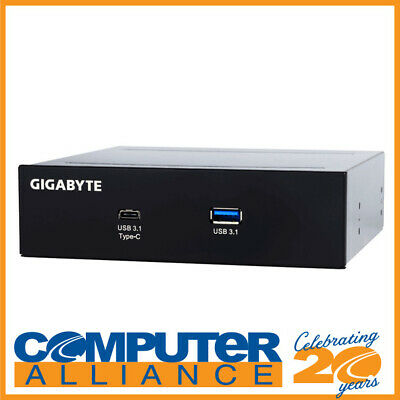 "Gigabyte 5.25"" GC-USB3.1 Front Bay Expansion Ports"