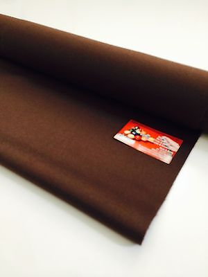 ENGLISH Hainsworth Pool Snooker Billiard Table Cloth Felt kit 8ft NUTMEG ON SALE