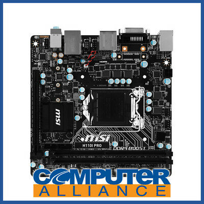 MSI S1151 Mini-ITX H110I-Pro DDR4 Motherboard