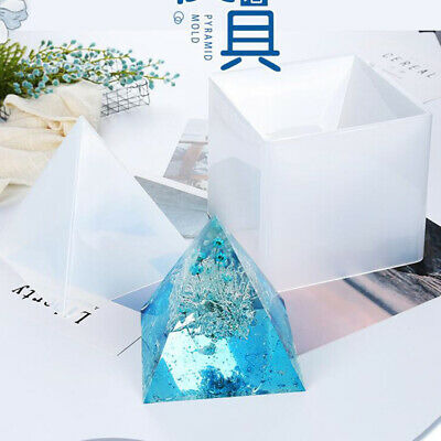 Super Pyramid Silicone Mould DIY Resin Decorative Craft Jewelry Making Mold