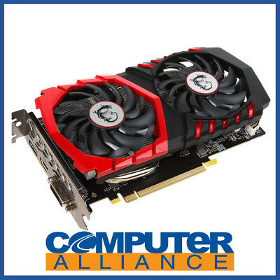 MSI GTX1050Ti 4GB Gaming X PCIe Video Card PN GTX 1050 Ti GAMING X 4G