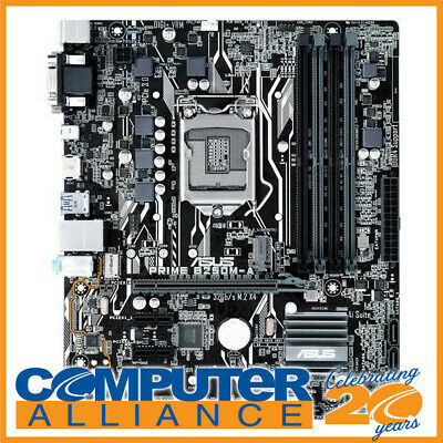 ASUS S1151 MicroATX PRIME-B250M-A DDR4 Motherboard