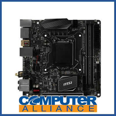 MSI S1151 Mini-ITX Z270I Gaming Pro Carbon AC DDR4 Motherboard