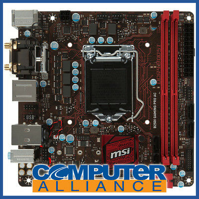 MSI S1151 Mini ITX B250i Gaming PRO AC DDR4 Motherboard