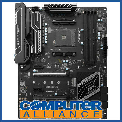 MSI AM4 ATX X370 SLI PLUS Motherboard